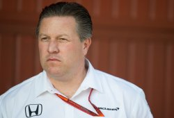 """Brown """"satisfecho"""" de llevar a Alonso y McLaren a Indianápolis"""