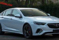 Buick Regal GS 2018: filtrada la variante Buick del futuro Opel Insignia OPC