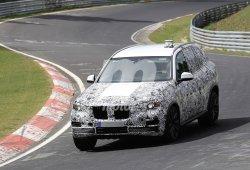 Cazado el nuevo BMW X5 rodando en Nürburgring