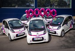 Los coches de alquiler de Car2go y emov son un rotundo éxito en Madrid