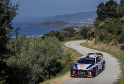 Thierry Neuville gana el Tour de Corse, Dani Sordo tercero