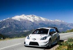 El Toyota Yaris WRC mide su nivel en el Tour de Corse