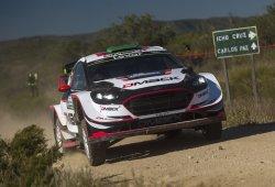 Elfyn Evans sorprende en el caos del Rally de Argentina