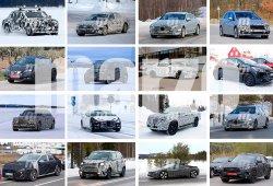 BMW i8 Spyder, Hyundai i30 Fastback y Nissan Leaf 2018: fotos espía Marzo 2017