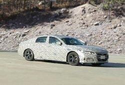 Honda Accord 2018: ahora con menos camuflaje nos enseña su parecido con el Civic