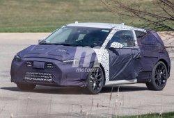 Hyundai Veloster 2018: comienza a mostrar sus novedades poco a poco