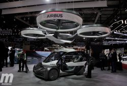 Airbus Pop.Up: el coche volador de Airbus e Italdesign