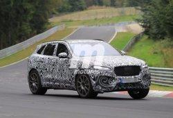 Jaguar F-Pace SVR 2018: vídeo en Nürburgring del nuevo SUV de 575 CV