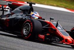 Palmer y Grosjean, sancionados con cinco plazas en parrilla