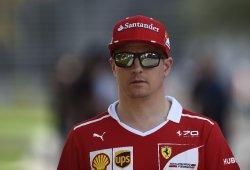 """Räikkönen, autocrítico: """"No puedo estar contento con mis resultados"""""""