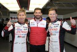 Kobayashi y Conway dan la pole a Toyota en Silverstone