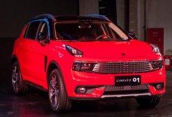 Lynk & Co 01: presentada en Shanghai la versión definitiva del nuevo SUV