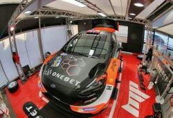 Mads Ostberg evoluciona el Ford Fiesta RS WRC a su gusto