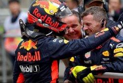 Max Verstappen culmina en el podio una asombrosa remontada