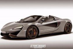 McLaren 570S Spider: el descapotable será una realidad a finales de 2017