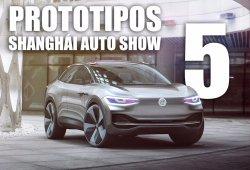 Los 5 mejores prototipos del Salón de Shanghái 2017