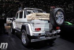 Mercedes-Maybach G 650 Landaulet: lujo extremo en carretera y fuera de ella