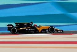 Hülkenberg pone a Renault al frente del grupo intermedio