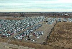 La megafactoría de la misteriosa Rivian se convierte en almacén de los Volkswagen del Dieselgate
