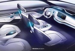 Desvelado el interior del Skoda Vision E: un atisbo de los futuros eléctricos de la marca