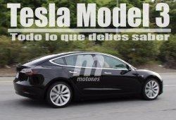 Todo lo que debes saber del Tesla Model 3