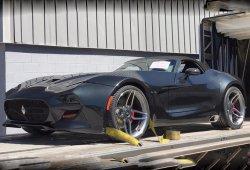El nuevo VLF Force 1 V10 Roadster al descubierto poco antes de su presentación