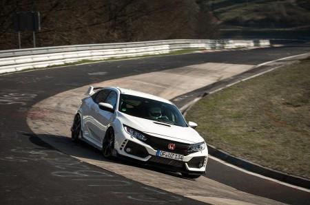 El Honda Civic Type-R bate el récord en Nürburgring para vehículos de tracción delantera