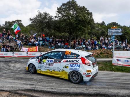 Nil Solans gana la primera cita del JWRC en Córcega