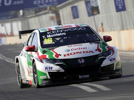 Honda manda en los libres del WTCC en Marrakech