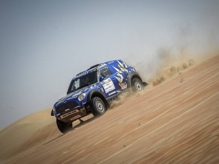 Duelo de grandes estrellas en el Qatar Cross-Country Rally