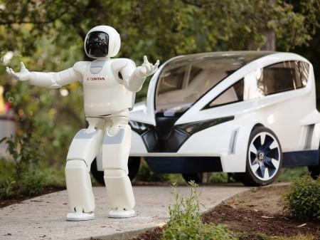 El robot Asimo de Honda dará la salida a la IndyCar en Alabama