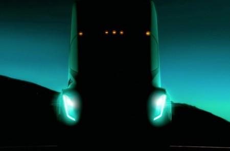 Tesla nos ofrece un primer anticipo de su camión eléctrico