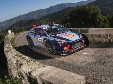 Tour de Corse (casi) perfecto para Hyundai Motorsport