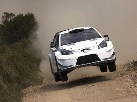 El Toyota Yaris WRC comienza su 'dieta' en Cerdeña