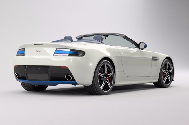 Aston Martin V8 Vantage S Great Britain Edition - posterior