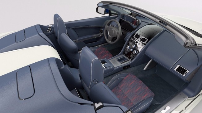 Aston Martin V8 Vantage S Great Britain Edition - interior
