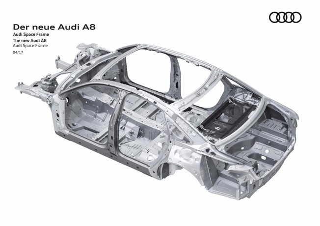 Audi A8 2018 Space Frame