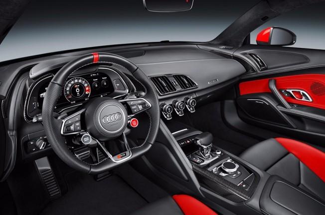 Audi R8 Coupé «Audi Sport Edition» - interior