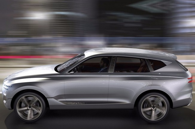 Genesis GV80 Concept - lateral