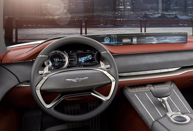 Genesis GV80 Concept - interior