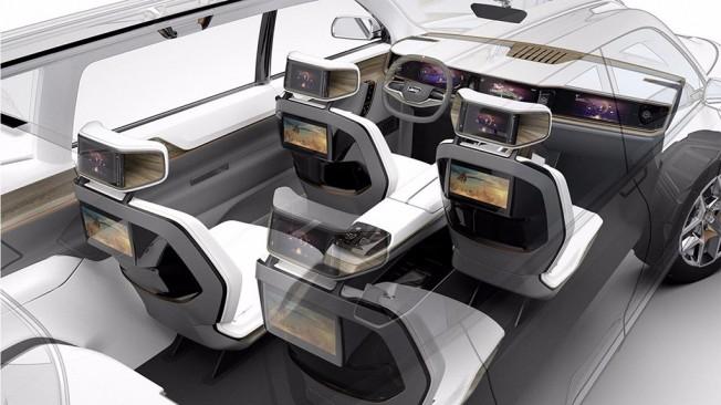 Jeep Yuntu Concept - interior
