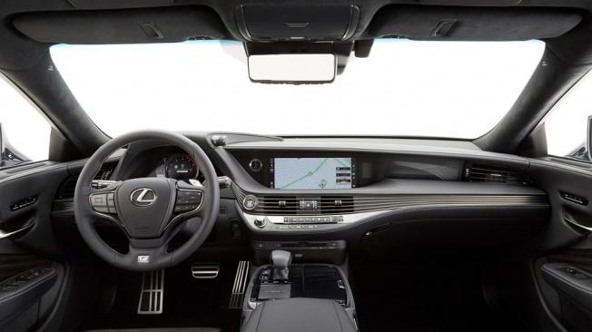 Lexus LS 500 F Sport 2018 - interior