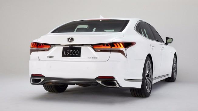Lexus LS 500 F Sport 2018 - posterior