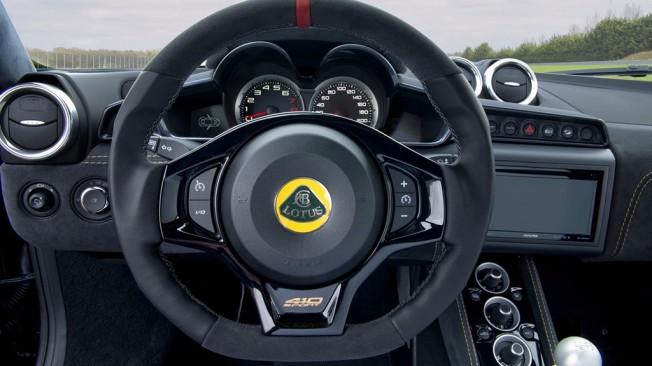 Lotus Evora Sport 410 GP Edition - interior