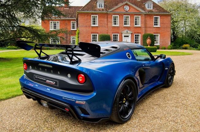 Lotus Exige Cup 380 - posterior