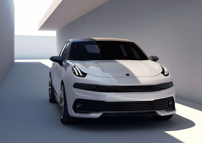Lynk & Co 03 Concept - frontal