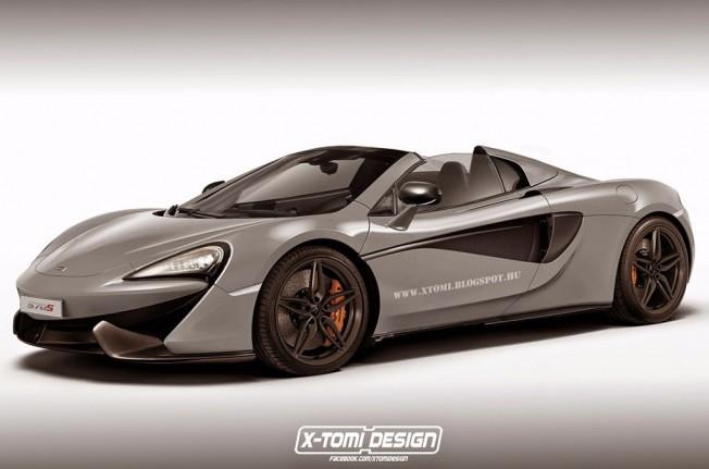 McLaren 570S Spider - recreación