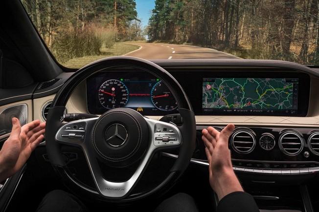 Mercedes Clase S 2017 - interior