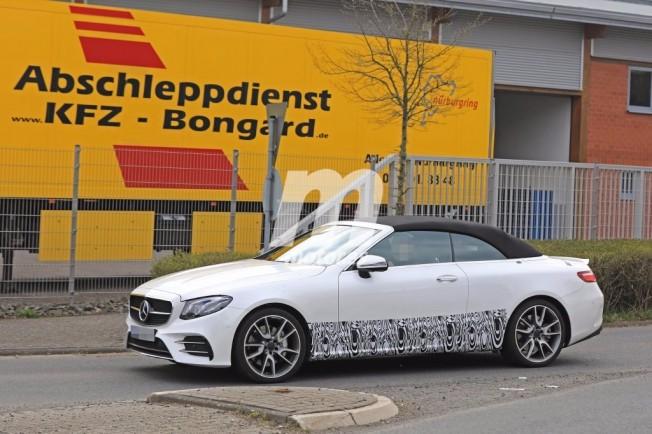 Mercedes Clase E Cabrio 2017 - foto espía