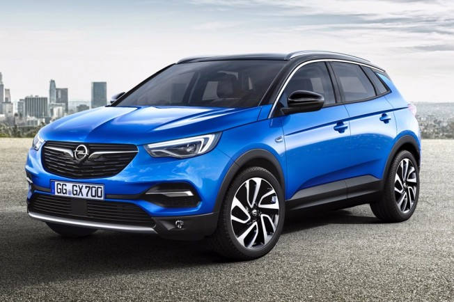 opel grandland x 2018 se desvela el nuevo suv de la marca del rayo. Black Bedroom Furniture Sets. Home Design Ideas